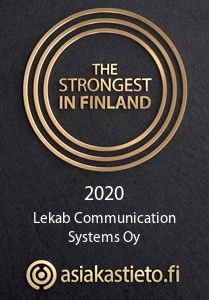 The strongest business in Finland - Lekab Communication Systems Oy